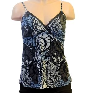 Mexx printed tank top size small